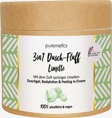 puremetics Body Lotion 'Limette No10 3in1 Dusch-Fluff' in