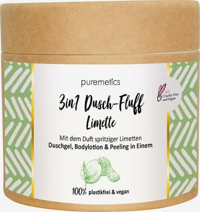 puremetics Body Lotion 'Limette No10 3in1 Dusch-Fluff' in White, Item view