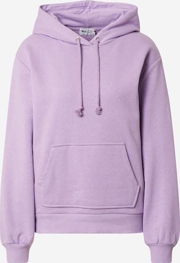 NA-KD Sweatshirt in helllila, Produktansicht