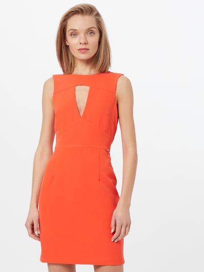 GUESS Kleid 'PATTI' in orangerot, Modelansicht