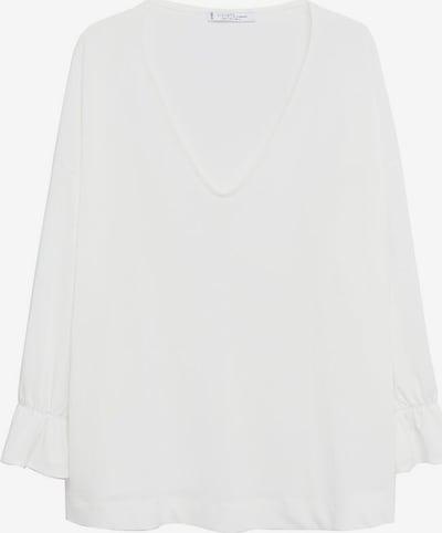 VIOLETA by Mango T-Shirt 'Sabrina' in weißmeliert, Produktansicht