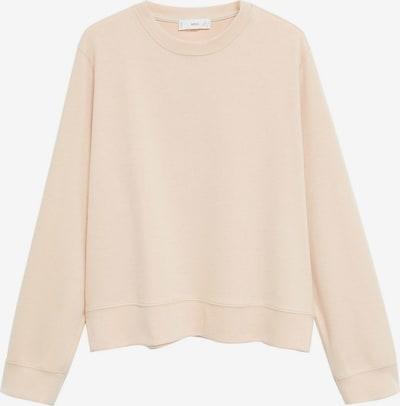 MANGO Sweatshirt 'Pique 8' in sand, Produktansicht