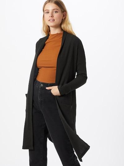 LTB Strickjacke 'Mixose' in schwarz, Modelansicht