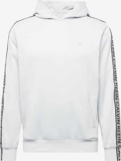 Hanorac sport Calvin Klein Performance pe gri deschis / negru, Vizualizare produs