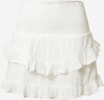 Neo Noir Jupe 'Line' en blanc, Vue avec produit