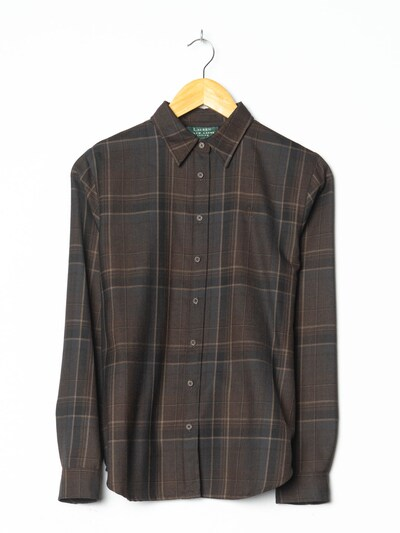 Lauren Ralph Lauren Hemd in XL in dunkelbraun, Produktansicht