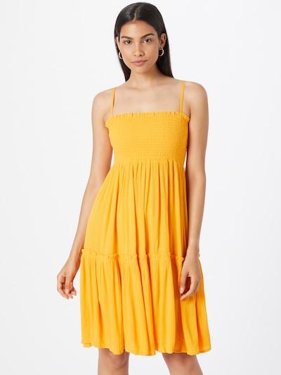 mbym Kleid in goldgelb, Modelansicht