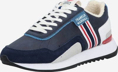 FRANKLIN & MARSHALL Sneaker 'EPSILON AMERICA' in navy / rot / weiß, Produktansicht