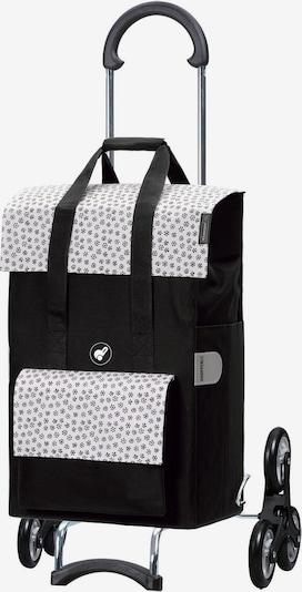 Andersen Shopper Einkaufstrolley 'Jara' in schwarz / weiß, Produktansicht