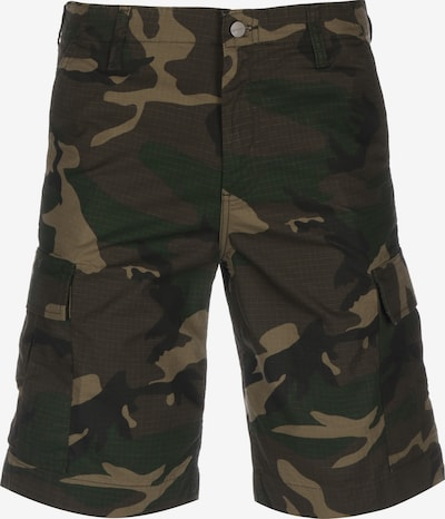 Carhartt WIP Cargo Shorts in beige / braun / dunkelbraun / grün, Produktansicht