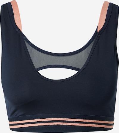 Sport top Lacoste Sport pe albastru / roz pal, Vizualizare produs