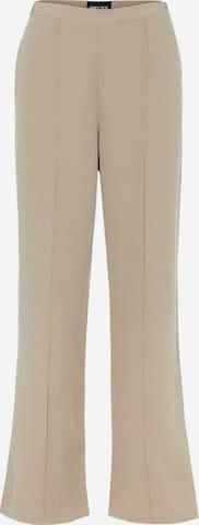 PIECES Spodnie 'Bossy' w kolorze brązowy