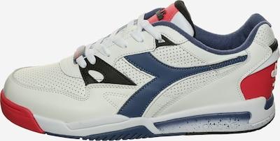 Diadora Sneaker in blau / rot / weiß, Produktansicht