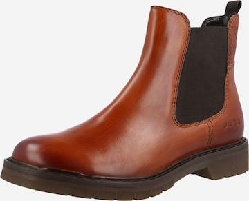 bugatti Chelsea Boots 'Modena' in Brown