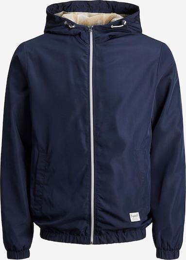 Geacă de primăvară-toamnă 'HAVANA' Jack & Jones Plus pe albastru închis / galben / alb, Vizualizare produs