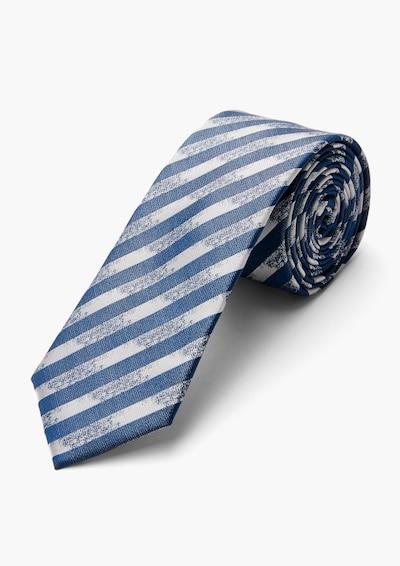 s.Oliver BLACK LABEL Krawatte in beige / blau, Produktansicht