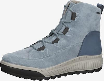 Legero Bottines à lacets en beige / bleu / bleu clair / gris, Vue avec produit