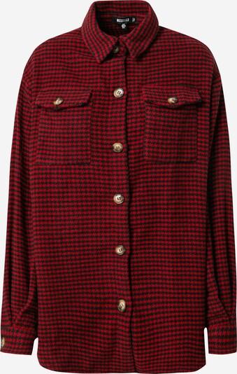 Missguided Jacke in rot / schwarz, Produktansicht