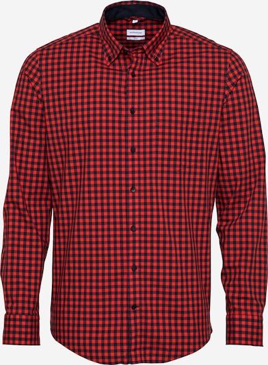 SEIDENSTICKER Hemd 'New B.D.' in rot / schwarz, Produktansicht