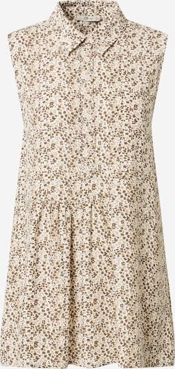 LTB Bluse 'LERIDE' in beige / dunkelbraun / weiß, Produktansicht