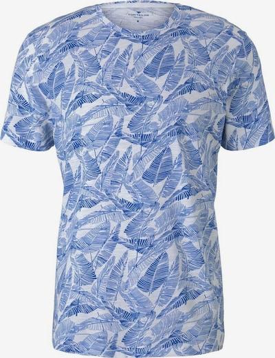 TOM TAILOR T-Shirt in royalblau / weiß, Produktansicht