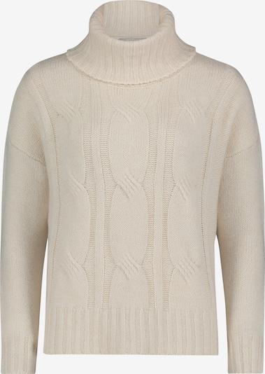 Betty & Co Grobstrick-Pullover mit Turtle Neck in creme, Produktansicht