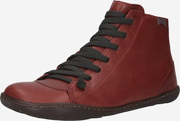 CAMPER Ankle boots 'Peu Cami' σε κόκκινο