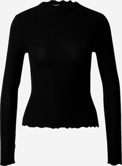Only (Petite) Shirt 'EMMA' in de kleur Zwart, Productweergave
