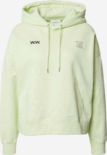 WOOD WOOD Sweatshirt 'Mary' in hellgrün, Produktansicht