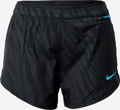 NIKE Pantalon de sport en bleu clair / noir, Vue avec produit