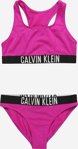 Calvin Klein Swimwear Bikini in Pink