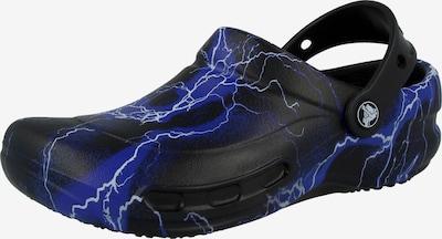 Crocs Clogs 'Bistro' in de kleur Hemelsblauw / Zwart / Wit, Productweergave