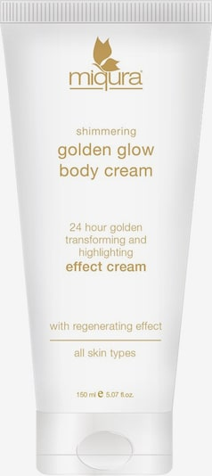 Miqura Body Lotion 'Golden Glow' in White, Item view