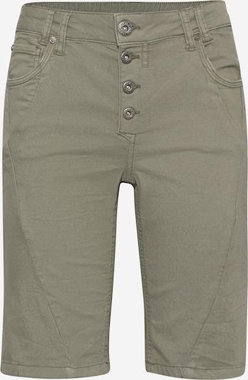 PULZ Jeans Shorts 'PZROSITA' in taupe, Produktansicht
