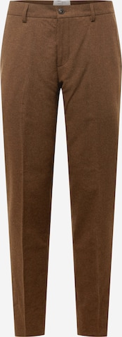 Pantaloni con piega frontale di Les Deux in marrone