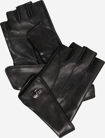 Guanti con dita corte Karl Lagerfeld di colore nero, Visualizzazione prodotti