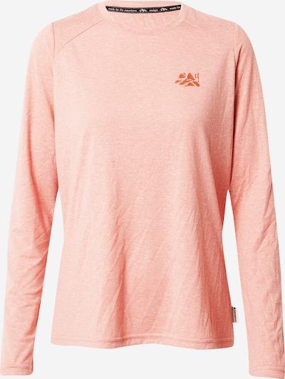 Sportiniai marškinėliai 'Tsenda' iš Maloja , spalva - koralų splava / tamsiai oranžinė, Prekių apžvalga