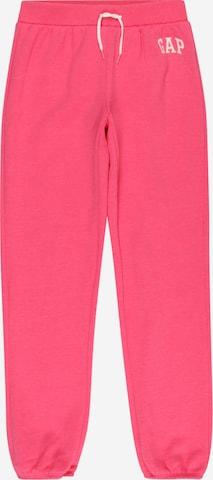 GAP Püksid, värv roosa