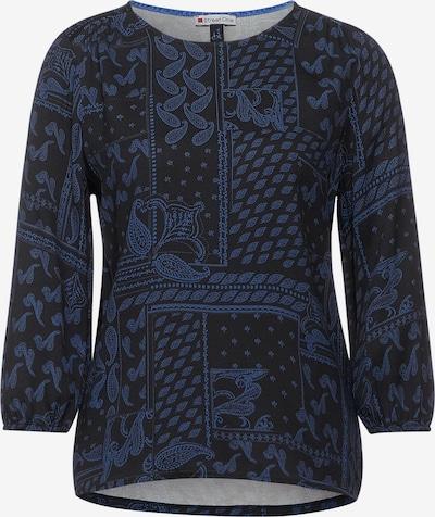 STREET ONE Tričko - modrá / čierna, Produkt