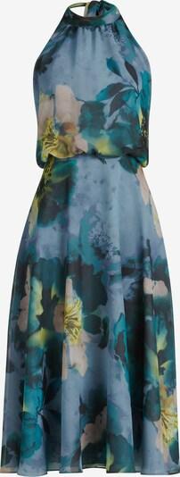 Vera Mont Robe en beige / bleu, Vue avec produit