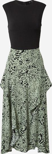 AX Paris Φόρεμα σε πράσινο παστέλ / μαύρο, Άποψη προϊόντος