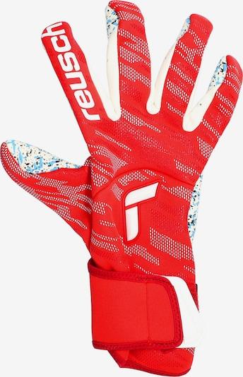 KEEPERsport Sporthandschuhe in rot / weiß, Produktansicht