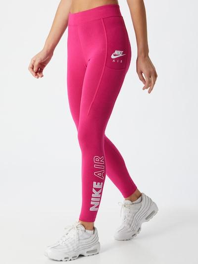 Leggings Nike Sportswear di colore rosa / bianco, Visualizzazione modelli