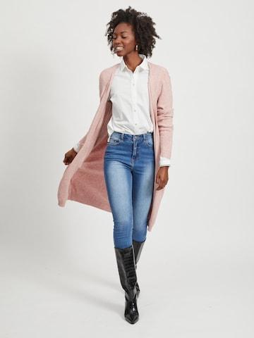 Cappotto in maglia 'Ril' di VILA in rosa