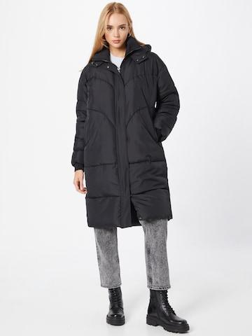 Soft RebelsPrijelazni kaput 'Inga' - crna boja