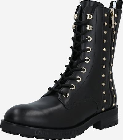 Suvarstomieji batai 'DAILY' iš Love Moschino , spalva - juoda, Prekių apžvalga