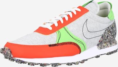 Nike Sportswear Trampki niskie 'DBreak-Type' w kolorze jasnoszary / neonowa zieleń / pomarańczowy / czarnym, Podgląd produktu