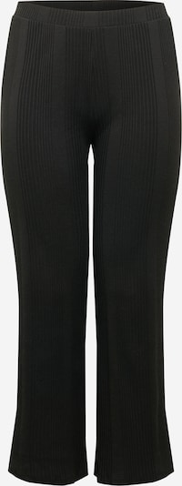 Pantaloni 'Manvi' PIECES (Curve) pe negru, Vizualizare produs