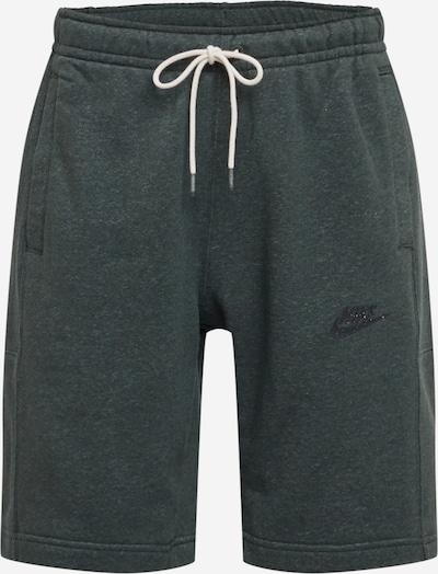 Nike Sportswear Shorts in creme / grünmeliert / schwarz, Produktansicht