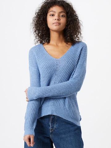 JDY Sweater 'Megan' in Blue